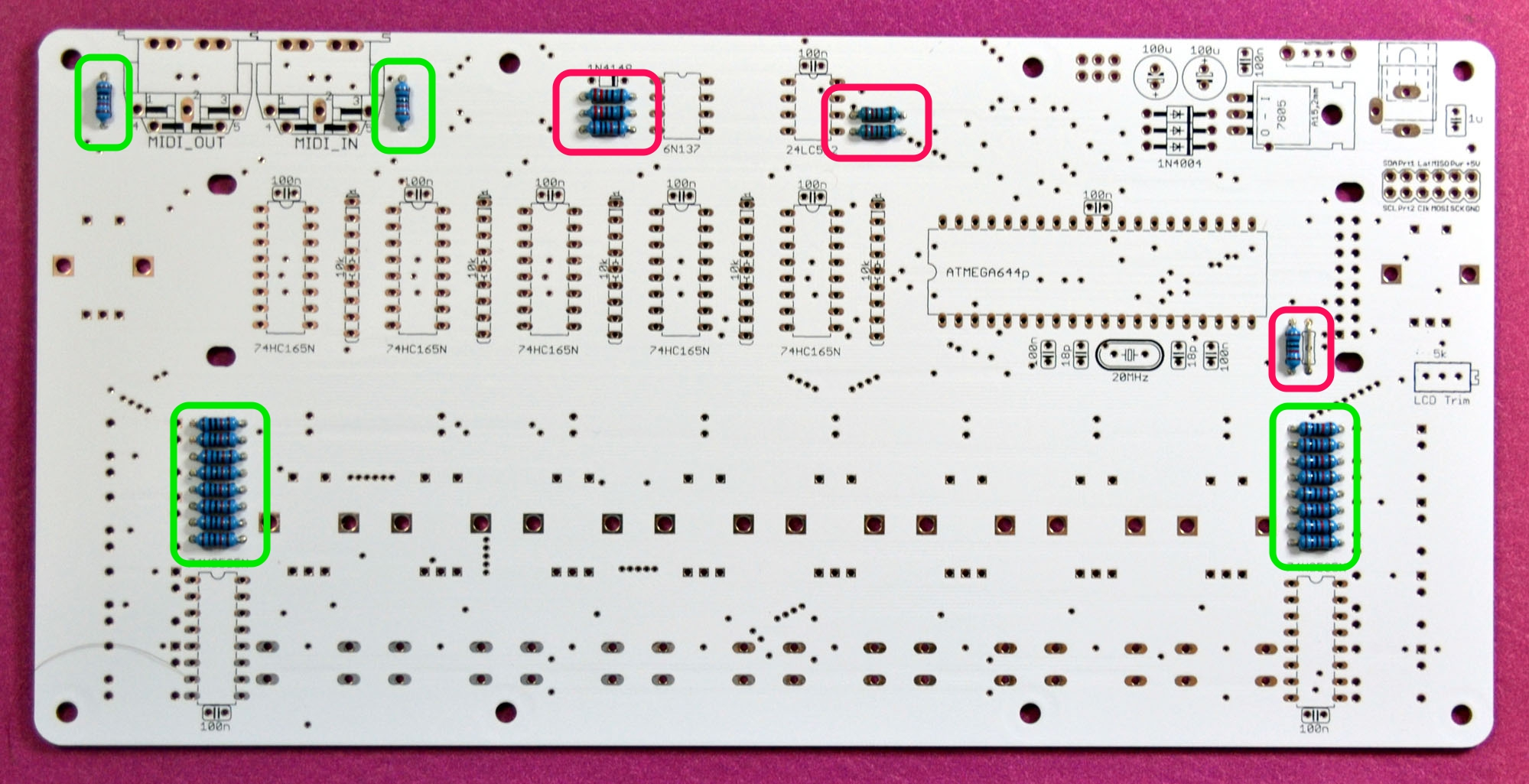 Building Midialf Midisizer What Resistor Should I Use In An Led Circuit Ebay Balf 02